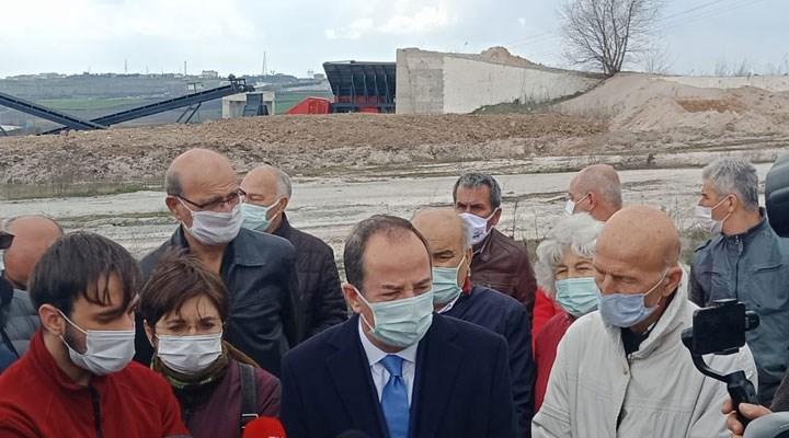 Edirne'de kurşun madenine geçit yok: Yurttaşa kurşun bulaşmış suyu içirmeyeceğiz