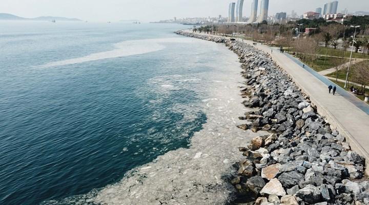 Marmara Denizi'ndeki görüntünün sebebi 'deniz salyası'