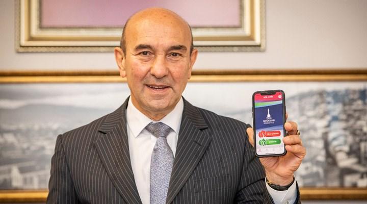 'Acil İzmir' mobil uygulaması hizmete girdi