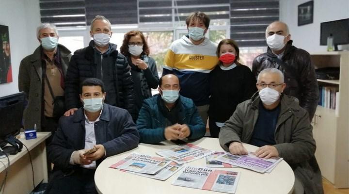 """DSD'lilerden BirGün'e destek: """"Havuzda boğulmamak için BirGün'e abone olun"""""""