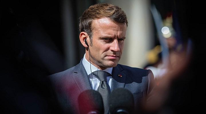 Elitlerin maşası Macron