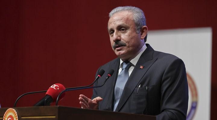 TBMM Başkanı Şentop'tan HDP açıklaması: Anayasamızda parti kapatma var