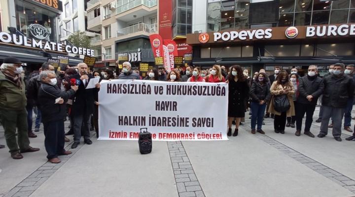 İzmir Emek ve Demokrasi Güçleri: Gergerlioğlu yalnız değildir