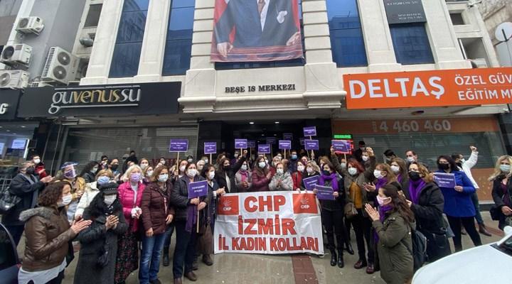 CHP İzmir İl Kadın Kolları: İstanbul Sözleşmesi kalacak, siz gideceksiniz