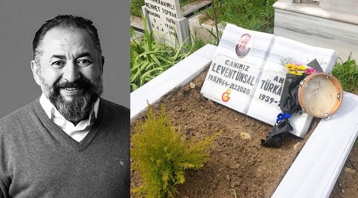 Tiyatrocu Levent Ünsal, ölüm yıl dönümünde mezarı başında anıldı