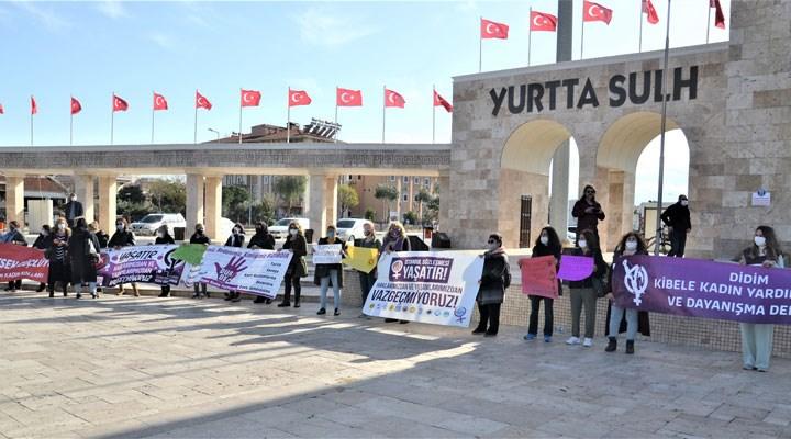 Didim'de kadınlar İstanbul sözleşmesi için bir araya geldi