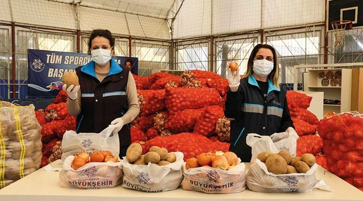 Patates ve soğan üreticisine destek