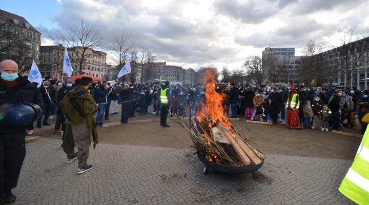 Berlin'de Newroz coşkusu