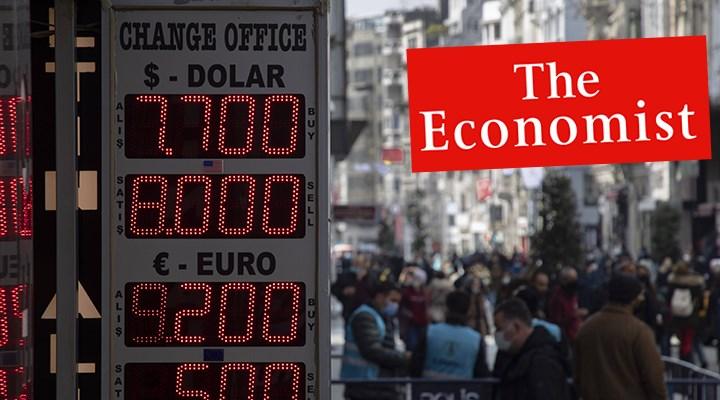 Economist: Türkiye döviz kriziyle karşı karşıya