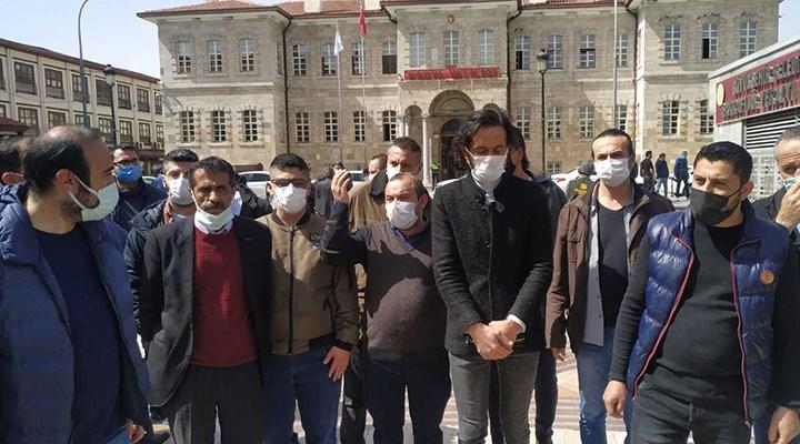 Konya'da esnaf Valilik önünde eylem yaptı: Devlet bizi çok yalnız bıraktı