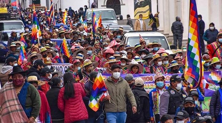 Bolivya'nın yerli halkı, darbecilerin bir an önce yargılanmasını istiyor