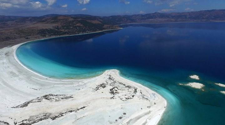 Salda Gölü UNESCO listesine alınarak korunmalı