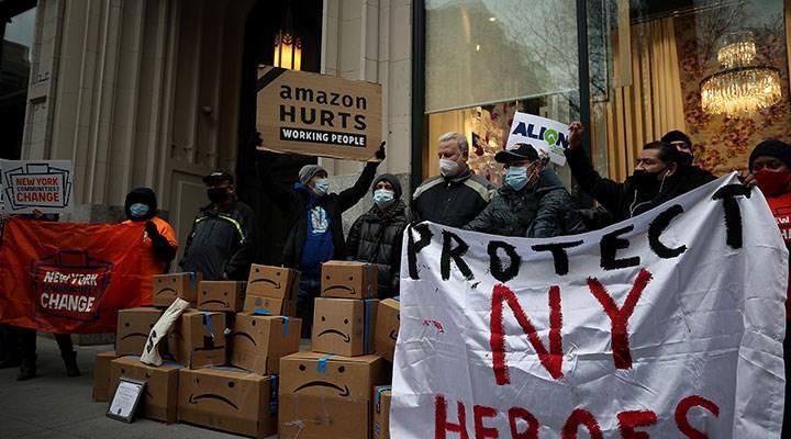 Amazon işçileri çalışma koşullarına isyan ediyor