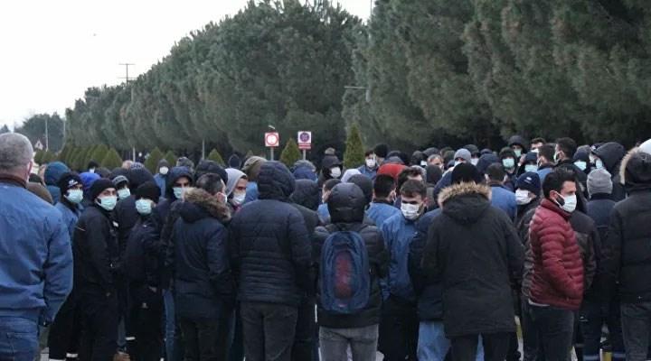 Hyundai işçileri sefalet zammına isyan etti