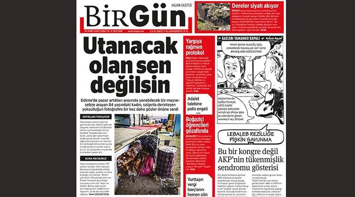 BirGün'ün manşet yaptığı 84 yaşındaki kadınla ilgili açıklama: Atık toplamayı alışkanlık haline getirdi!