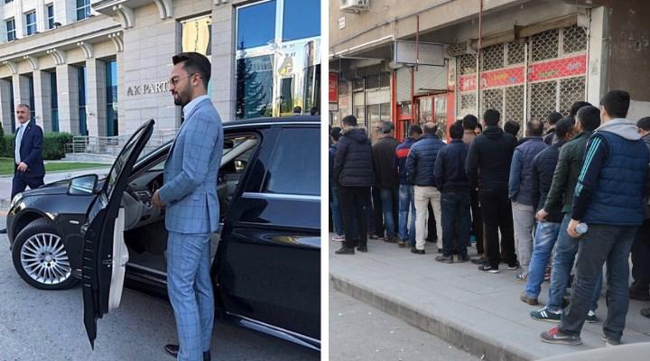 AKP'ye lüks halka sefalet