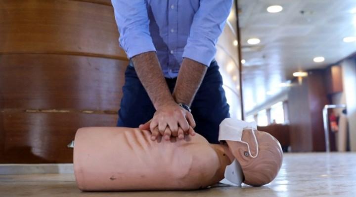 İBB Şehir Hatlarında ilk yardım eğitimi