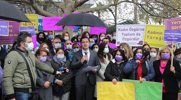 CHP İzmir'den İstanbul Sözleşmesi sözü
