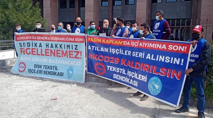 Kod 29 ile işten atılan işçilerden suç duyurusu