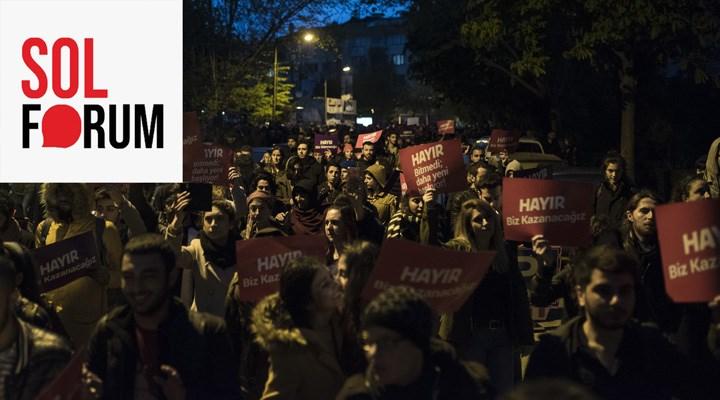 Sol Forum: AKP ile oturulacak bir anayasa masası yoktur!