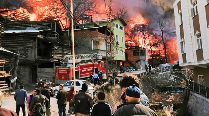 Artvin'in kâbusu yangınlar eski tesisattan kaynaklı