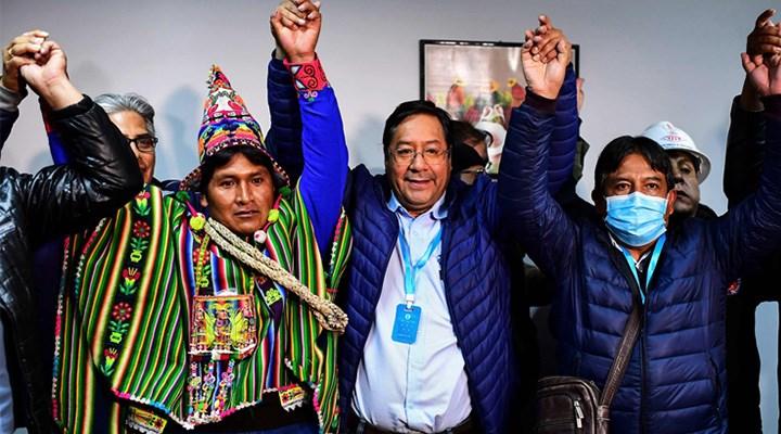 12 lider Bolivya için tek yürek