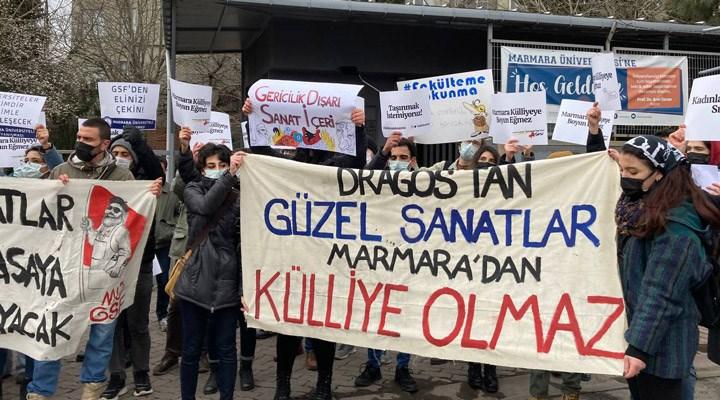 Marmara Üniversitesi GSF öğrencilerinin mücadelesi sonuç verdi: Fakülte taşınmayacak