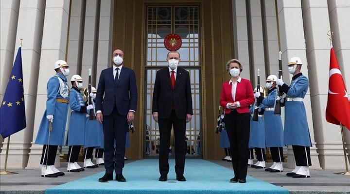 AB Liderleri Erdoğan'la görüştü: AİHM'in Kavala ve Demirtaş'la ilgili kararları nettir