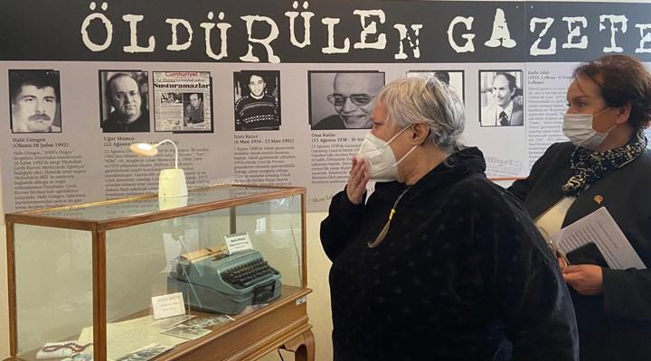 Musa Anter İGC Basın Müzesi'nde
