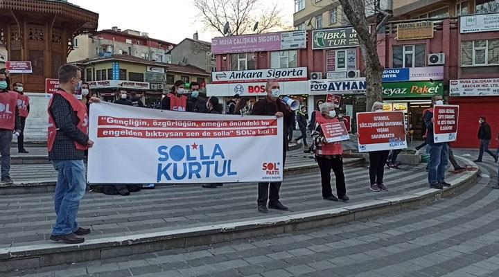 SOL Parti Bursa'dan iktidarın eğitim, ekonomi ve kadına yönelik politikalarına tepki