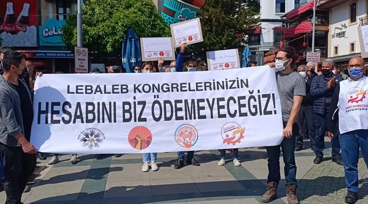Antalya Kafe Bar Çalışanları Dayanışması, Ramazan yasaklarına karşı eylem yaptı