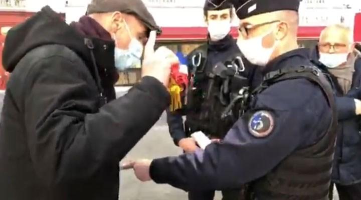 Fransa'da polis, meclise girmek isteyen solcu vekili engelledi