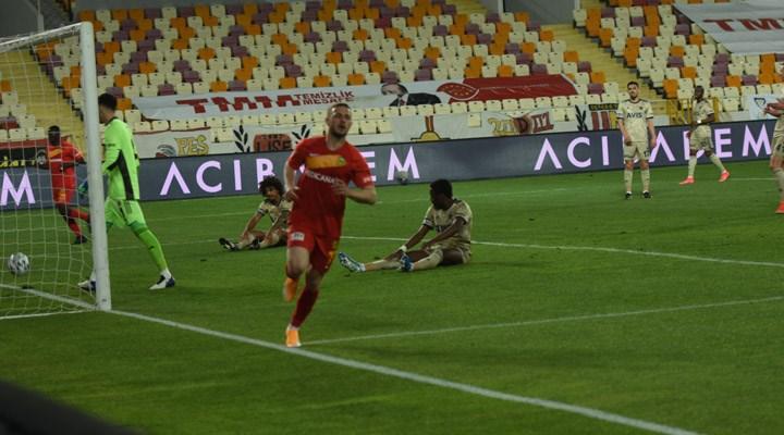 Fenerbahçe, Malatyaspor ile berabere kaldı
