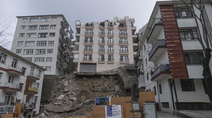 Bakan Kurum'dan Ankara'da temeli kayan Açelya Apartmanı'na ilişkin açıklama
