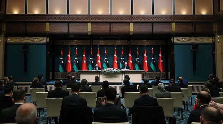"""Erdoğan, Libya ile 5 anlaşma imzalandığını duyurdu: """"Libya'ya 150 bin doz aşı vereceğiz"""""""