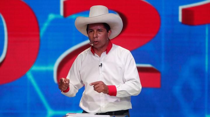 Peru seçimlerinde sandıktan sendika lideri solcu aday birinci çıktı
