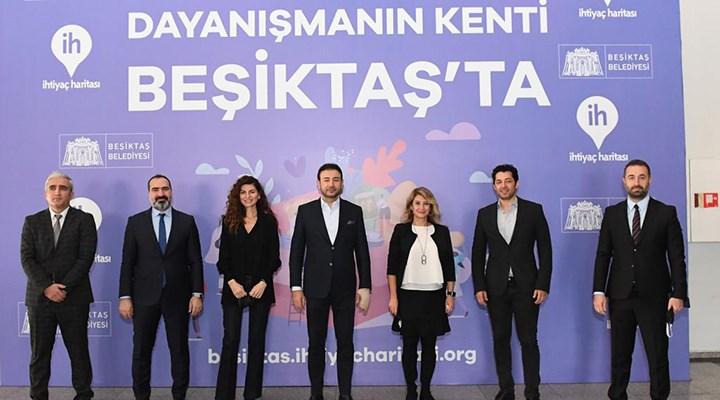 Beşiktaş Belediyesi 'İhtiyaç Haritası'yla dayanışma hareketini başlattı