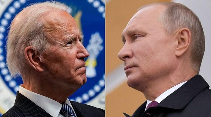 Biden ile Putin arasında telefon görüşmesi