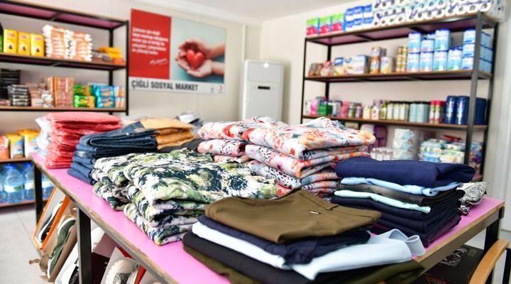 Çiğli'de ihtiyaç sahipleri için sosyal market açılıyor
