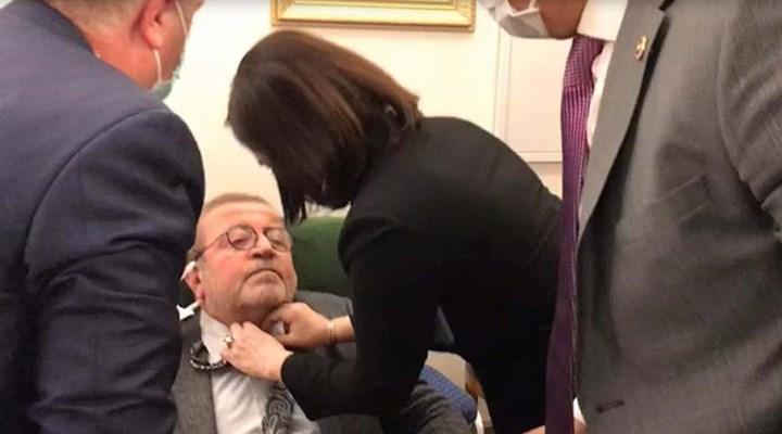 Meclis'te fenalaşan HDP'li Kemal Bülbül hastaneye kaldırıldı