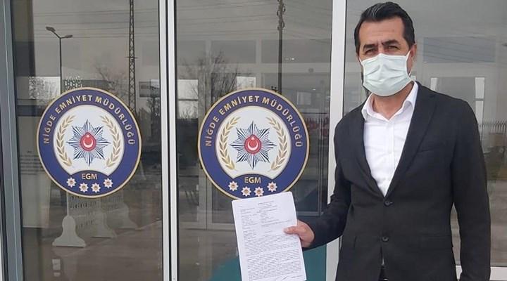 '128 milyar dolar nerede' pankartı: CHP Niğde İl Başkanı 'Cumhurbaşkanına hakaretten' ifade verdi