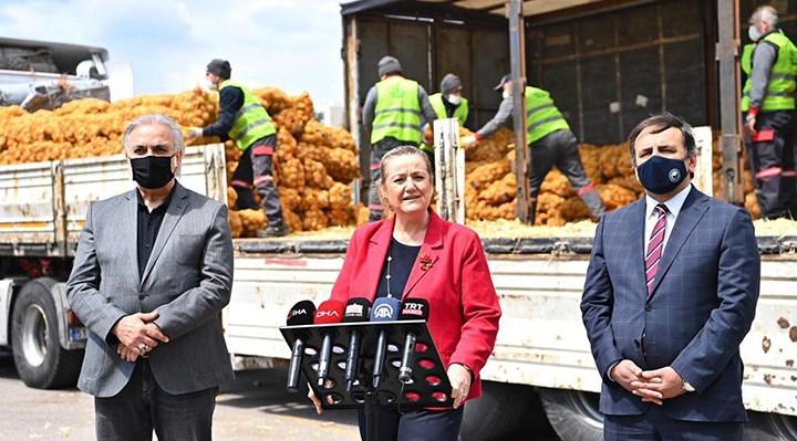 İstanbul Valiliği'nden patates karşılama töreni