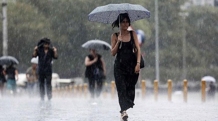 Meteoroloji uyardı: Sağanak ve fırtına bekleniyor