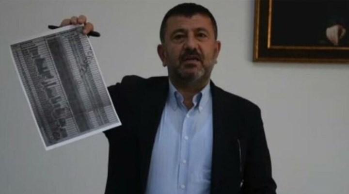 CHP'li Ağbaba, AKP'li belediye tarafından Almanya'ya gönderilen ve geri dönmeyenlerin listesini paylaştı