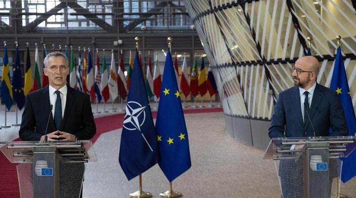 NATO ve AB, Rusya'ya uygulanan yaptırımların ardından ABD ile dayanışma açıklaması yaptı