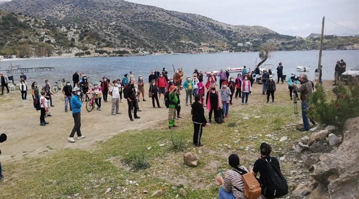 Datçalılar 'Kargı Koyu'na sahip çıkıyor: Özelleştirilmesi Anayasa'ya aykırı