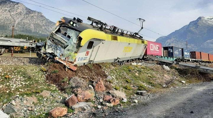 Adana'daki tren kazasının güvenlik kamerası kayıtları ortaya çıktı