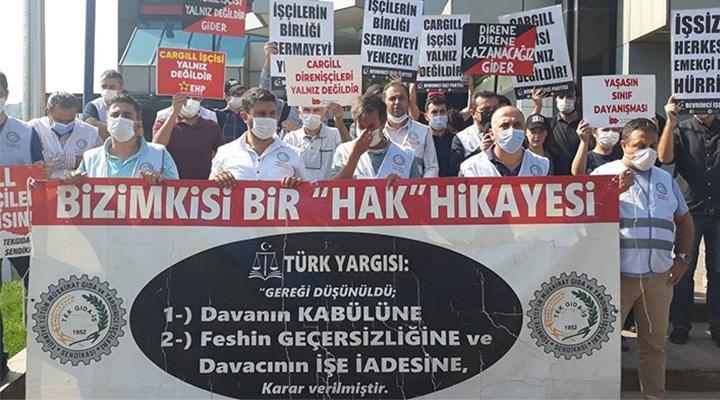 Cargill işçisi direnişte 3 yılı geride bıraktı: Mücadele sürecek