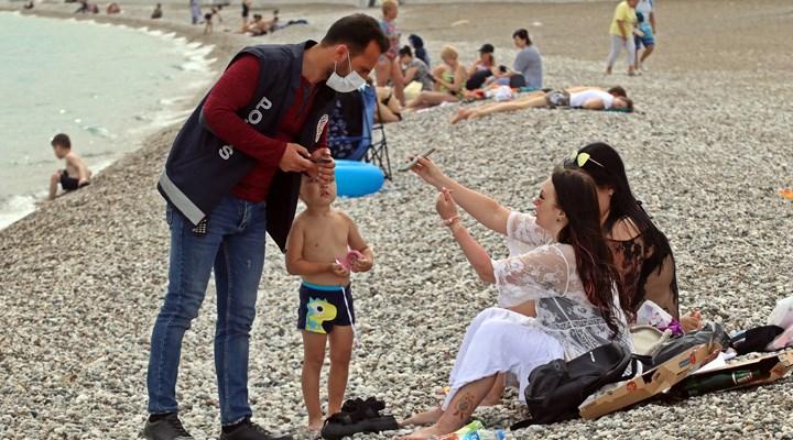Soylu'nun 'İkametini iptal ederim' açıklamasının ardından sahilde sıkı denetim