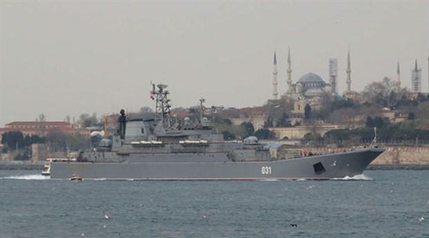 Rus donanmasından Karadeniz'de tatbikat